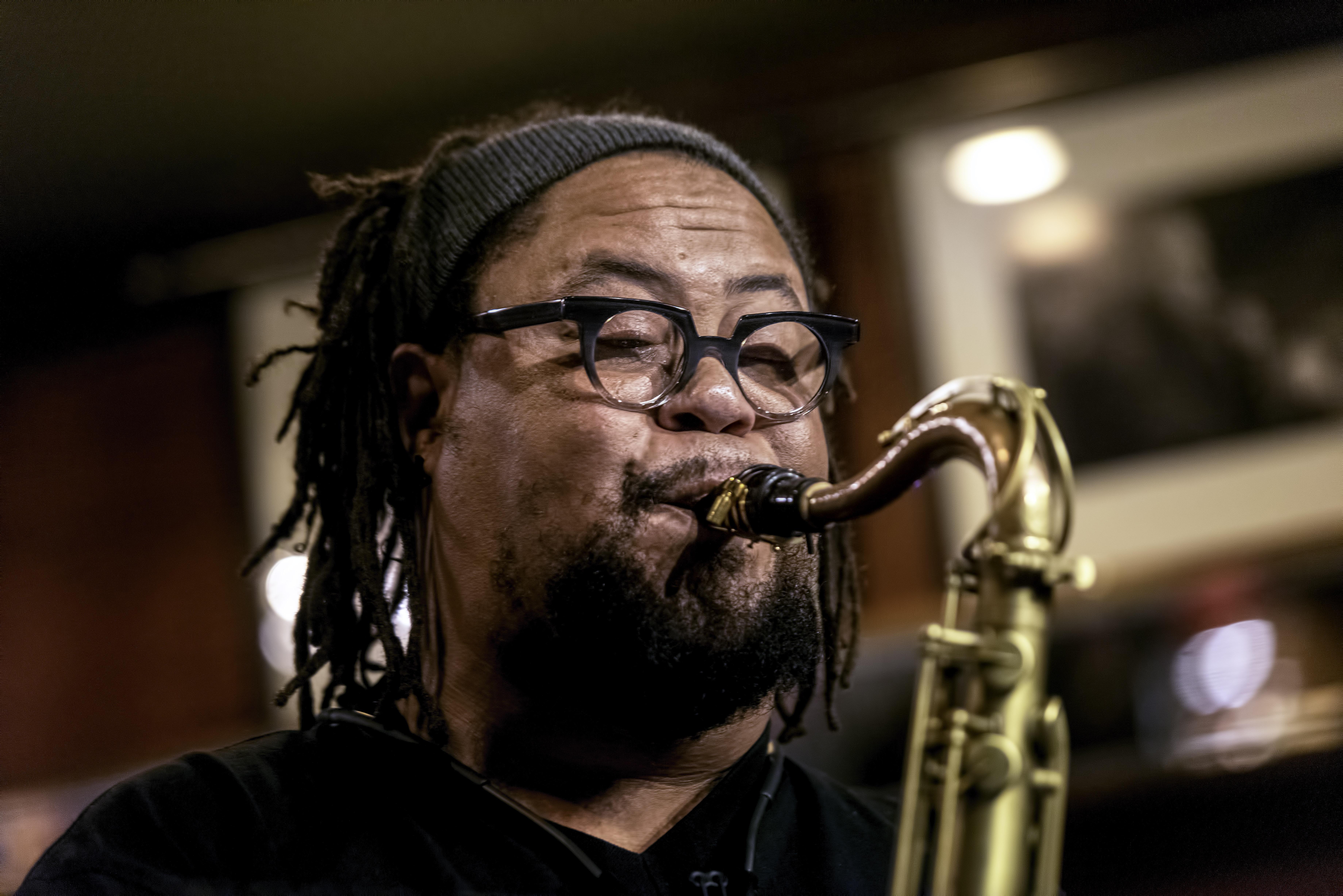 Dayna Stephens at the Rex Jazz Bar at the Toronto Jazz Festival 2019
