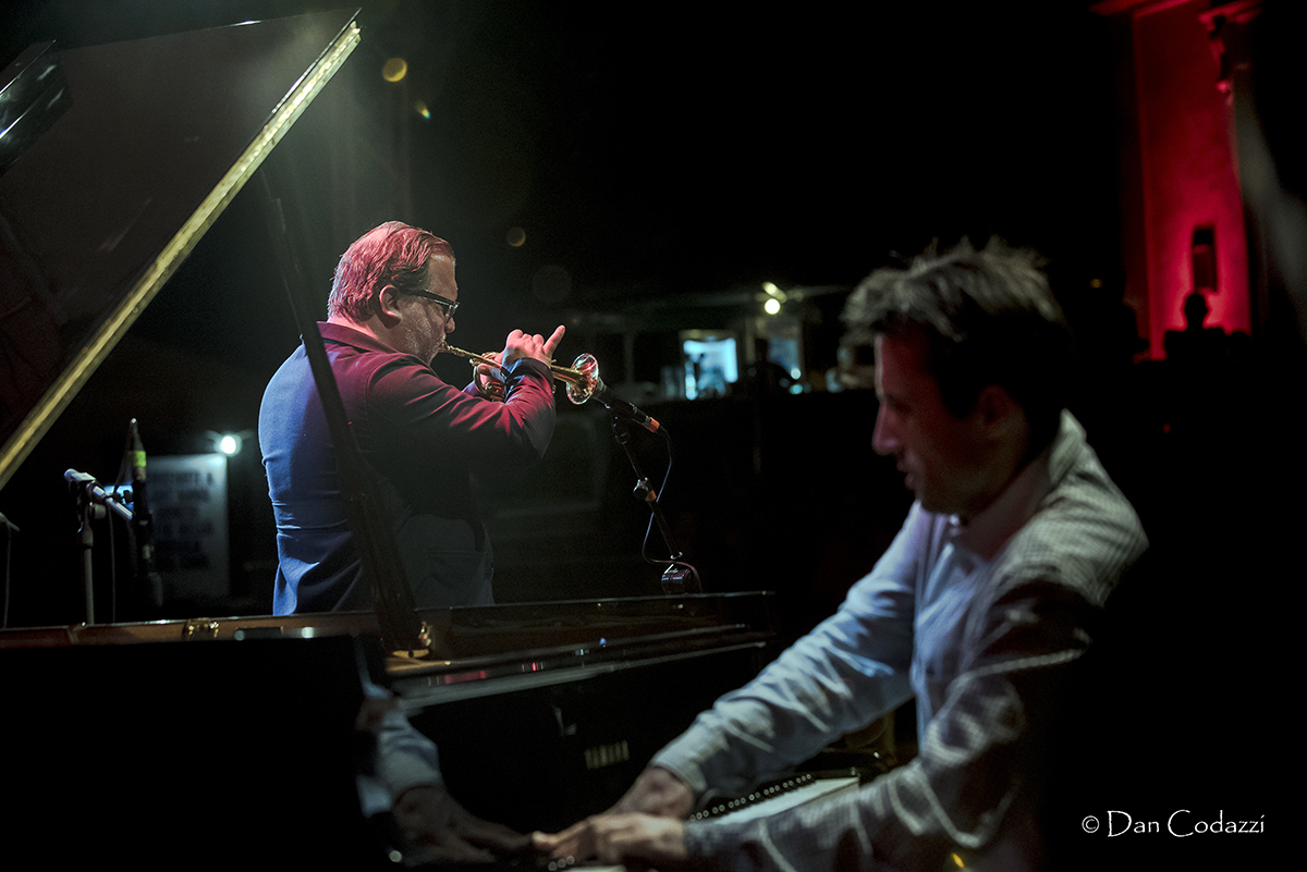 Rob Mazurek and Alexander Hawkins, Sant'Anna Arresi Jazz Festival 2018