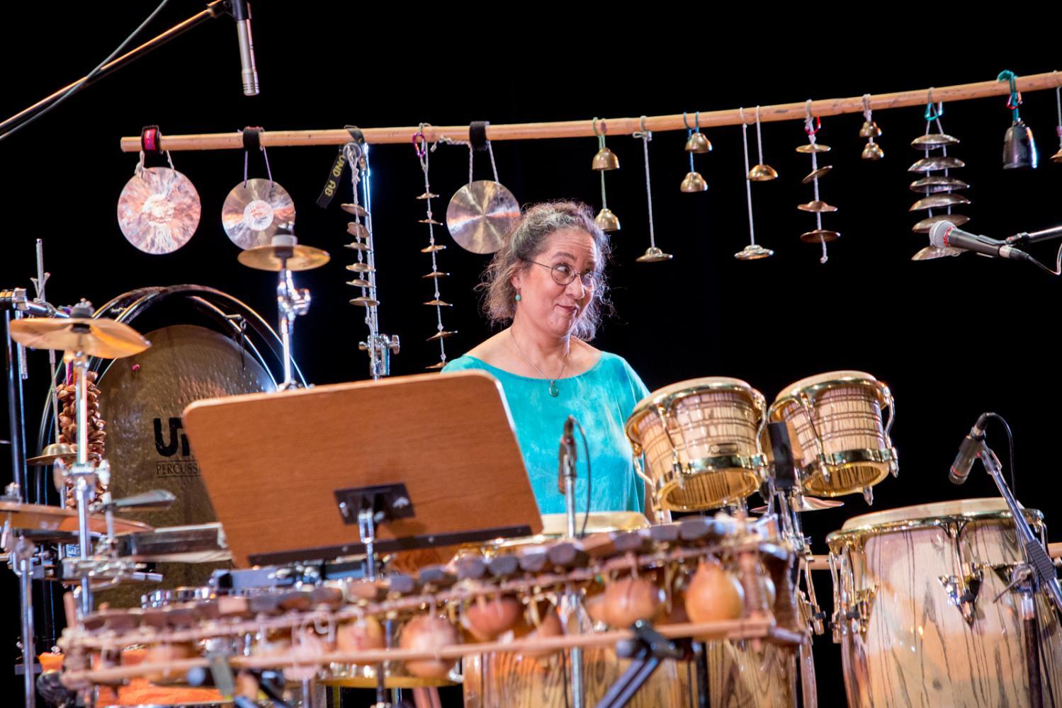 Marilyn Mazur at Bergamo Jazz 2017