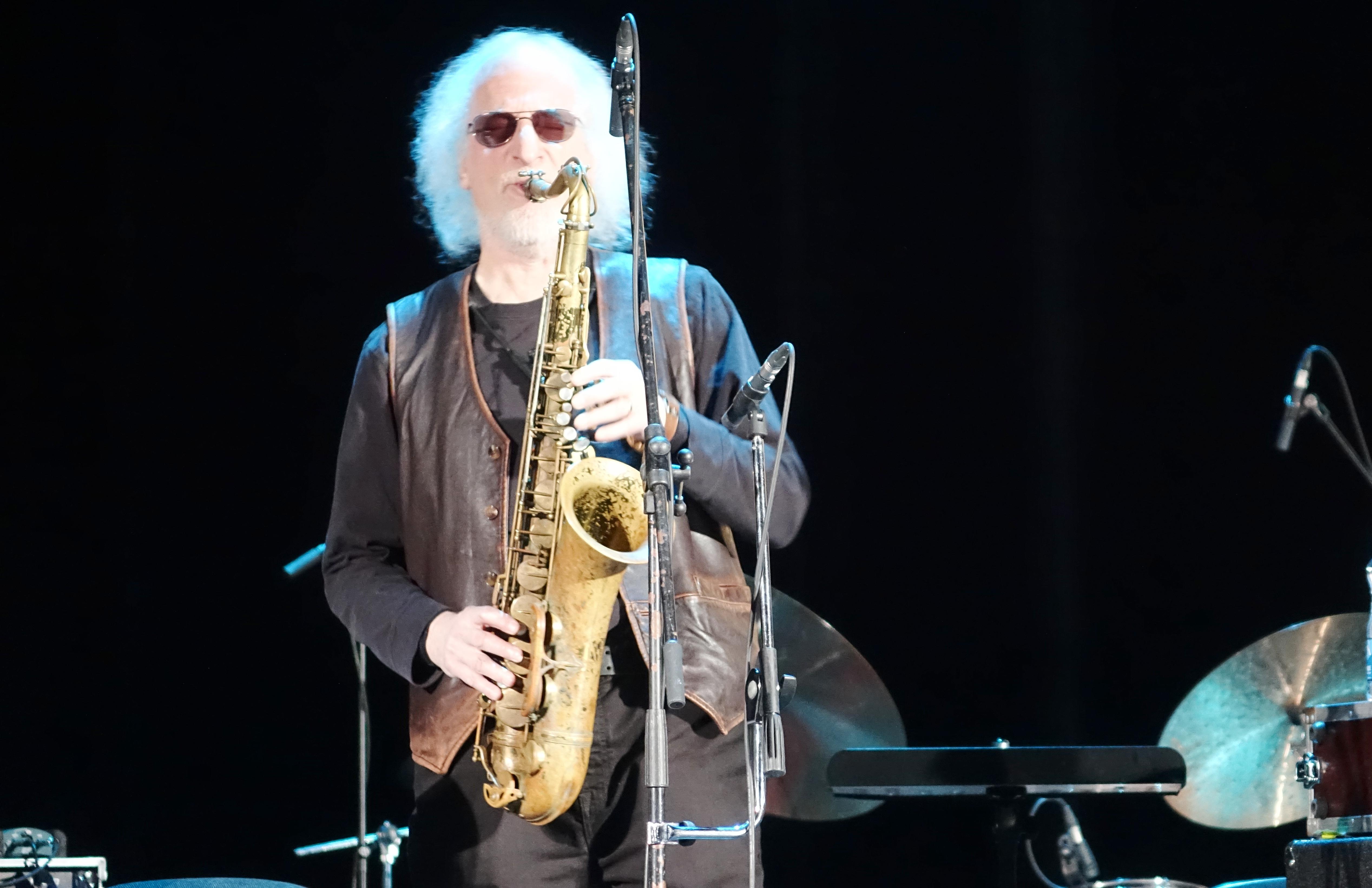 Larry Ochs at the Vilnius Mama Jazz Festival in November 2017