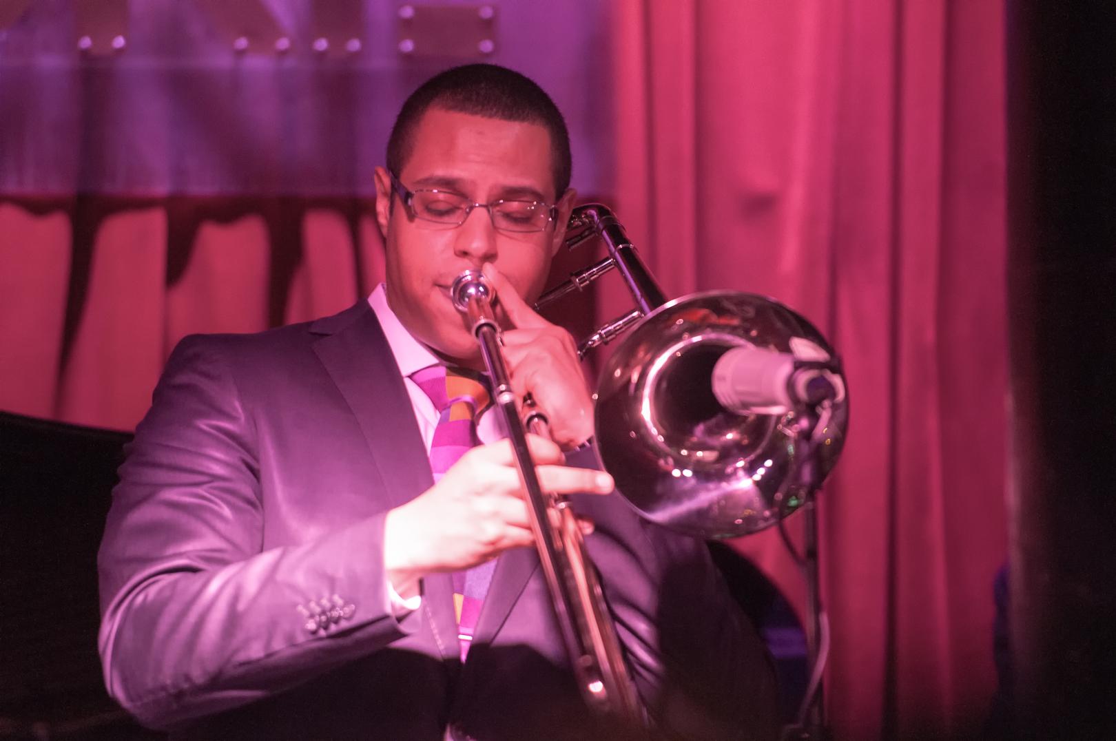 James burton iii with one for all at smoke jazz club