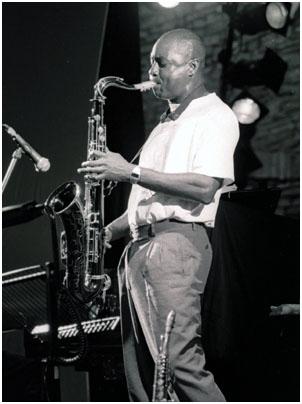 Branford Marsalis 0869113 Brecon Int. Jazz Fest., Wales, UK. Aug. 1998 Images of Jazz