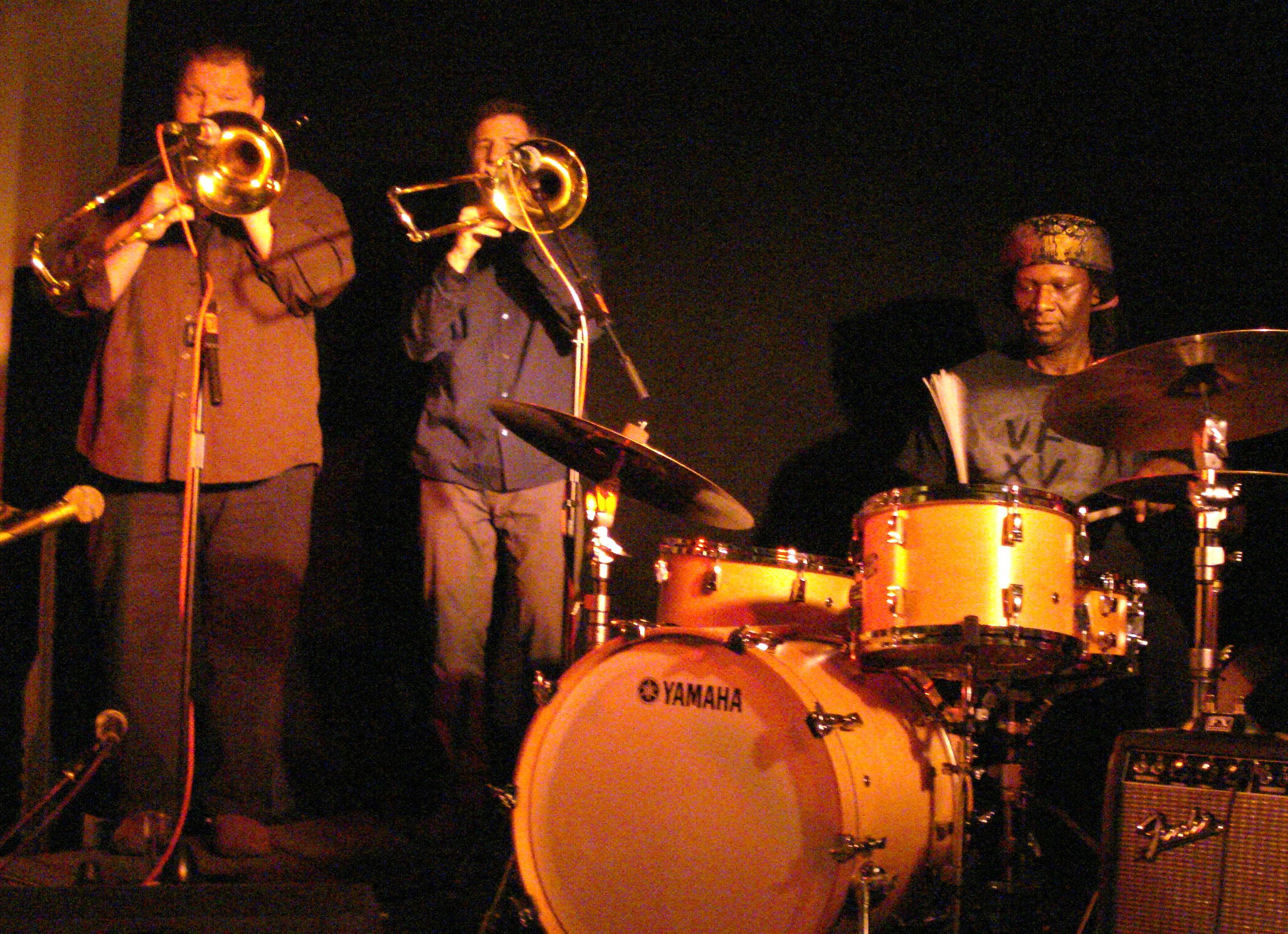 Hamid Drake and Bindu at the 2010 London Jazz Festival