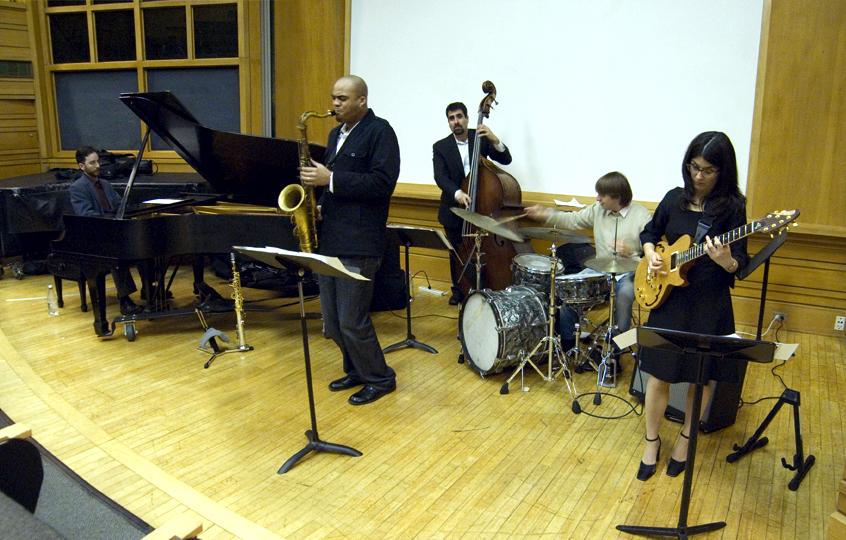Amanda Monaco and Playdate (Wayne Escoffery, Noah Baerman, Henry Lugo, Vinnie Sperrazza) - City College 2008