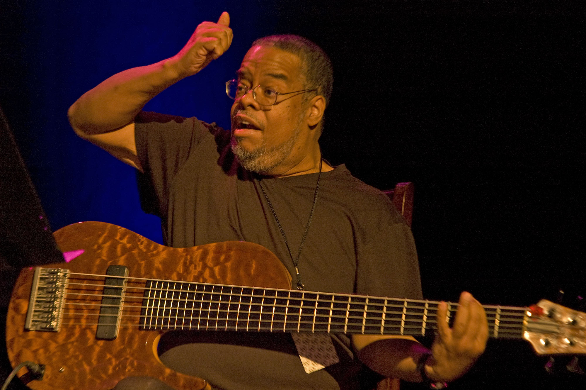 Anthony Jackson, Performing with Wayne Krantz at the 2010 New Universe Music Festival