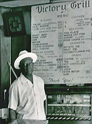 Johnny Holmes, Founder of the Historic Victory Grill