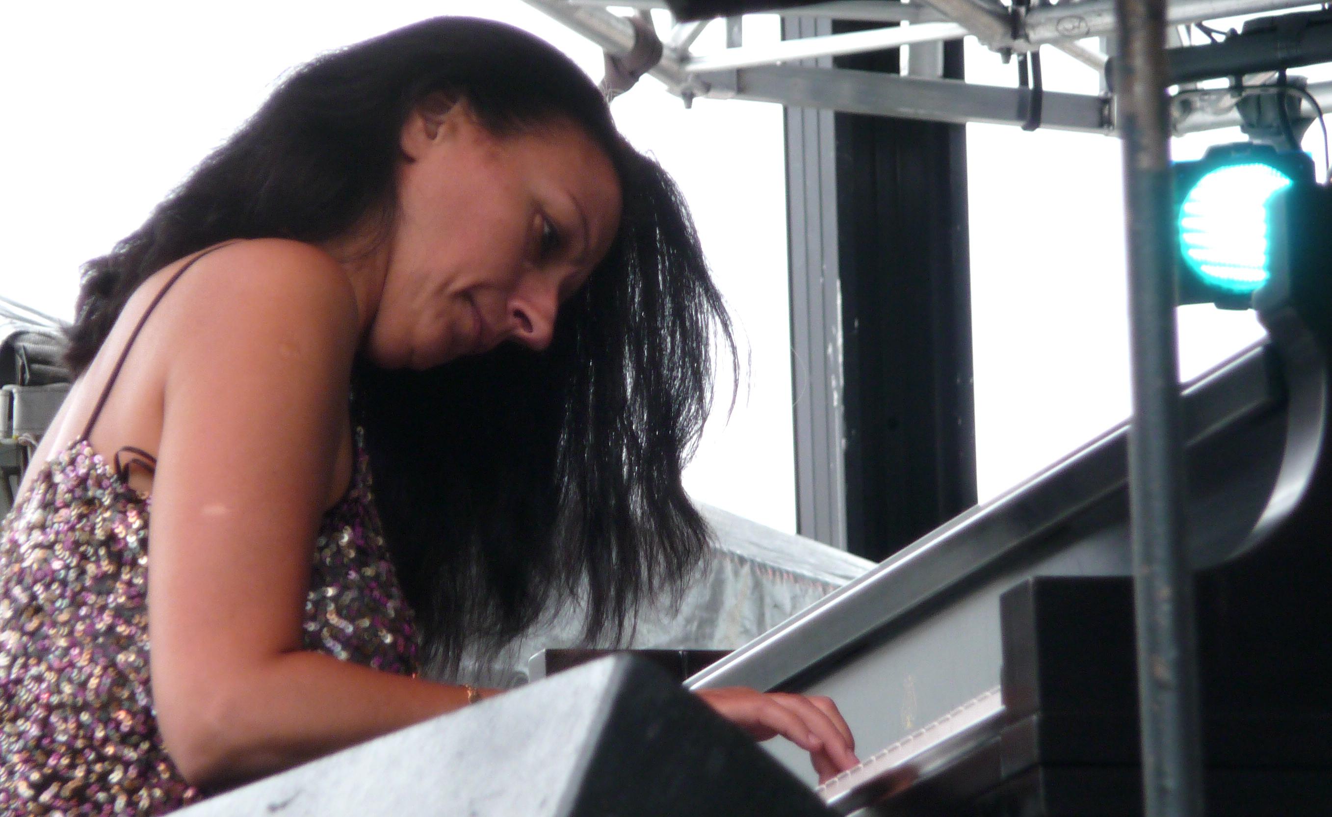 Amina Figarova at Detroit Jazz Festival
