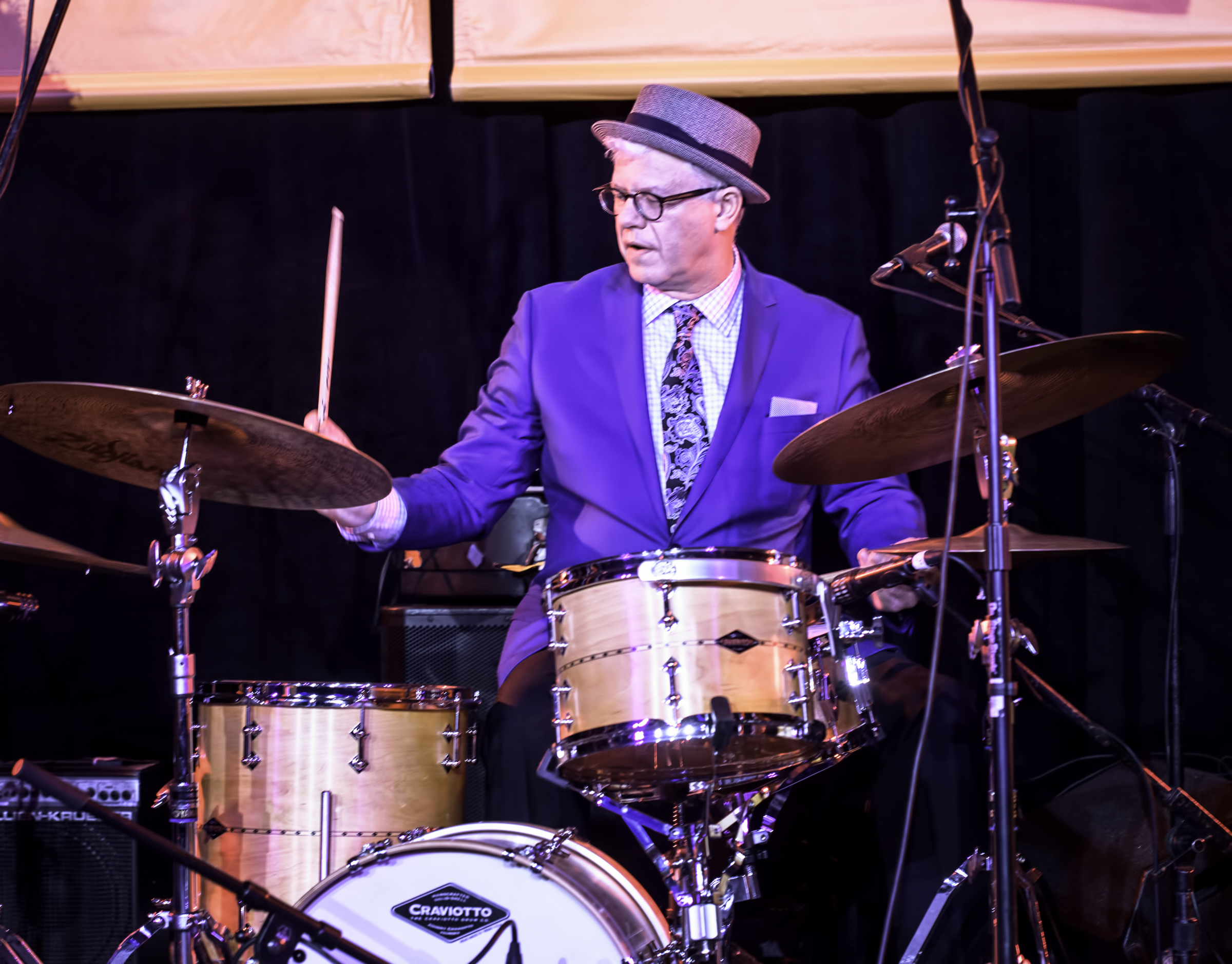 Matt Wilson With Honey And Salt At The Monterey Jazz Festival