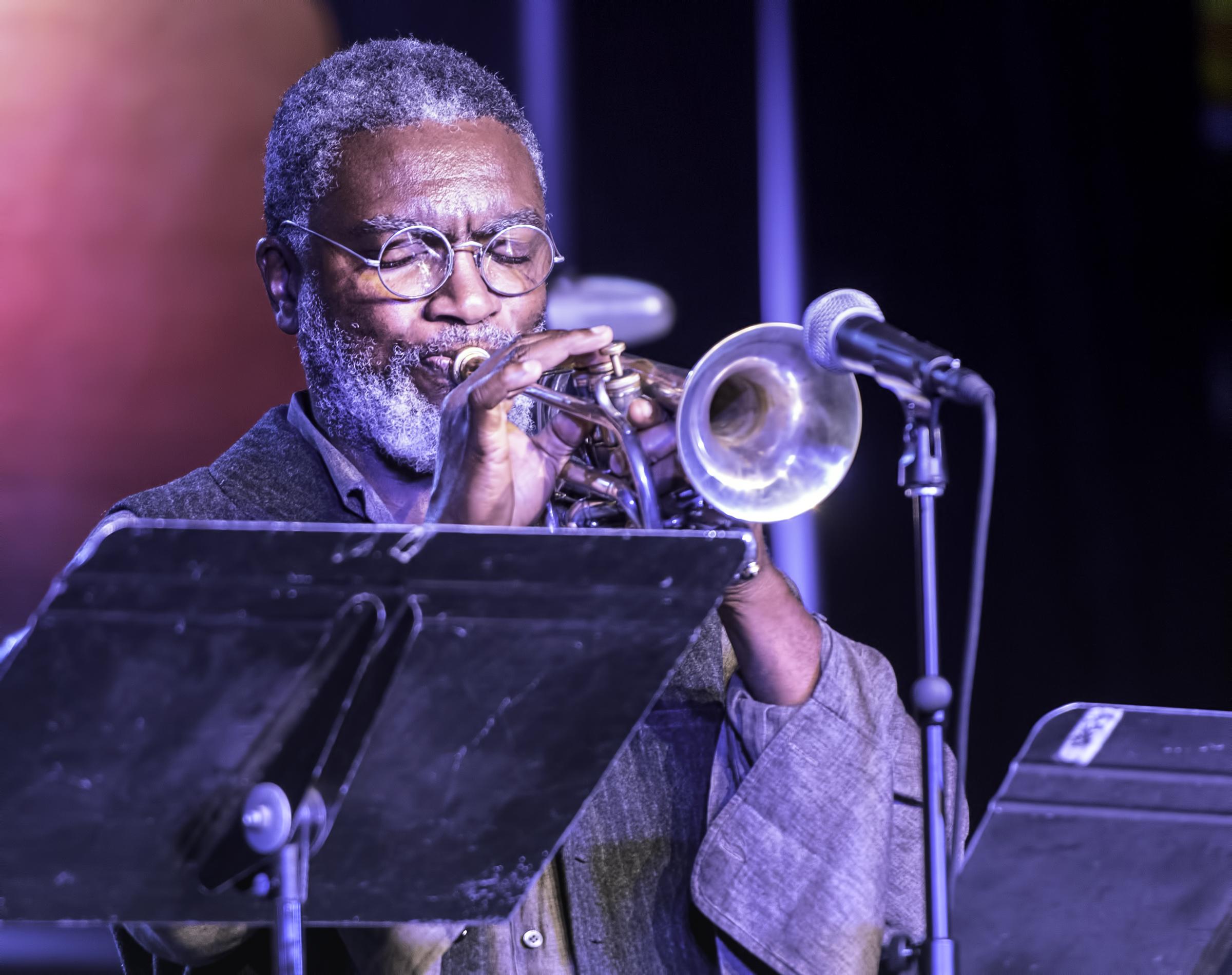 Graham Haynes with the Vijay Iyer Sextet at the Monterey Jazz Festival