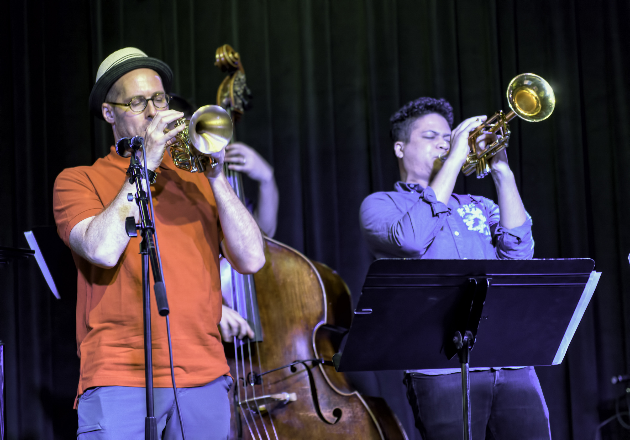 Noah Simpson And George Colligan With The Noah Simpson Quartet