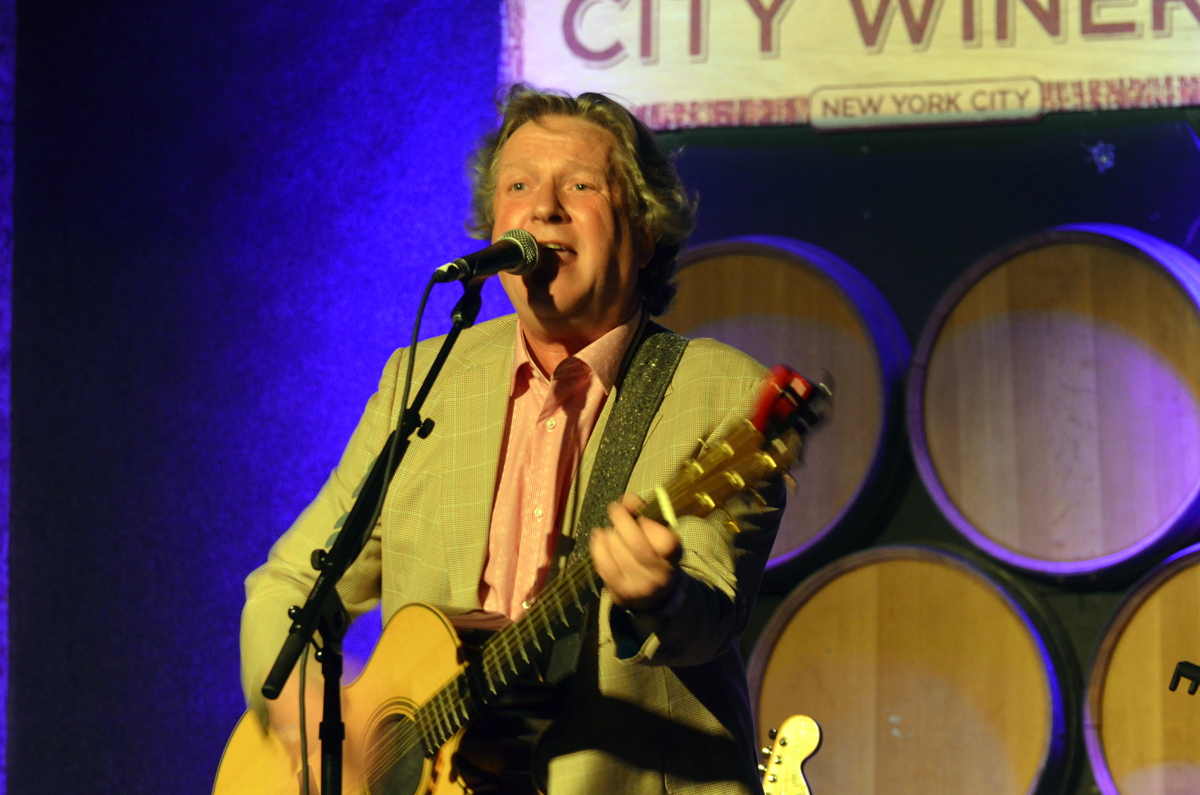 Glenn Tilbrook at City Winery in Nyc on 9-26-14.