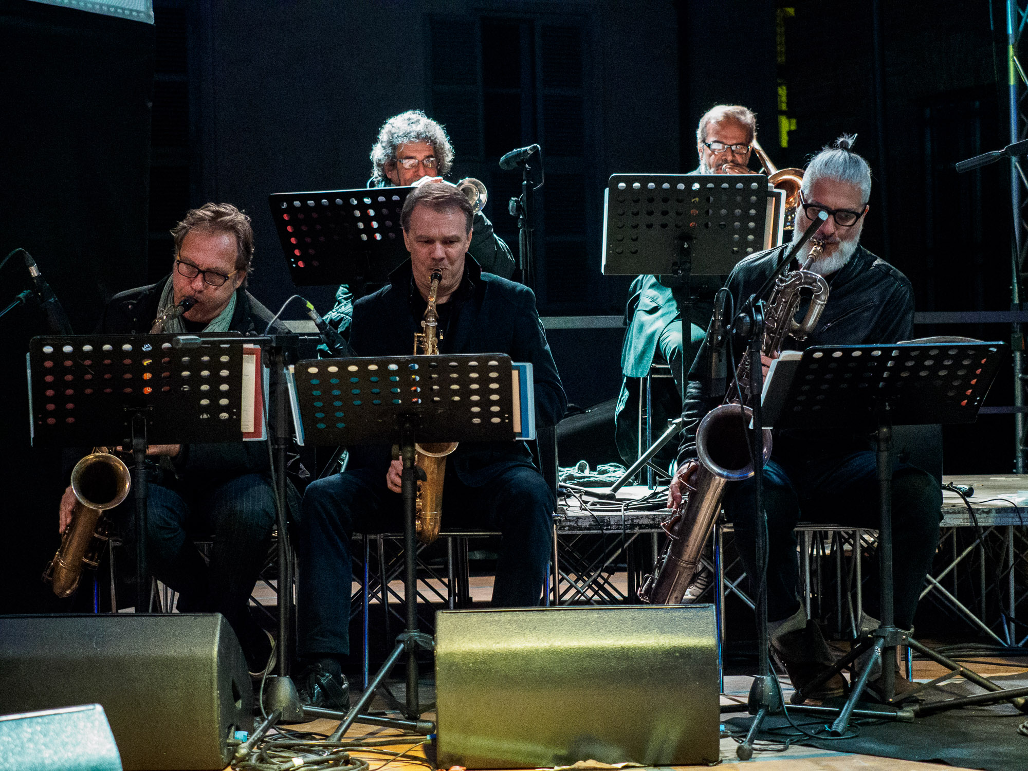 "MJF Jazz Orchestra, winds - ""With respect to Ella"""