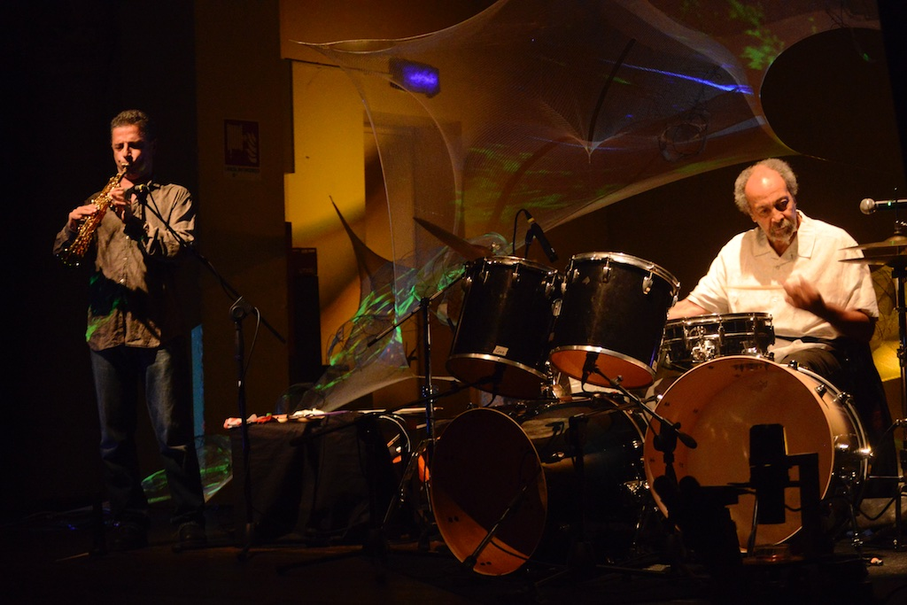 """Gianni Gebbia & Milford Graves: """"Cell Melodies"""" - Bologna, Centro di Ricerca Musicale"""