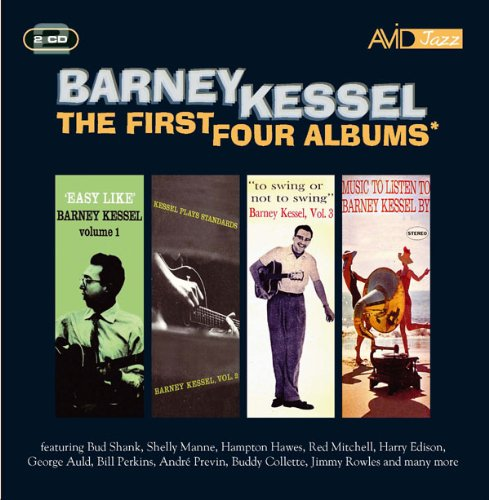 "Read ""Barney Kessel: The First Four Albums"" reviewed by Mark Barnett"