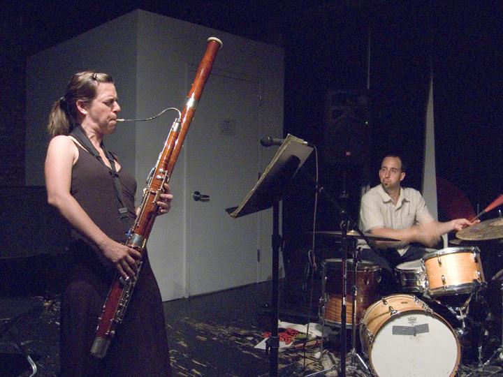Saris (Sarah Schoenbeck and Harris Eisenstadt) - The Stone 2008