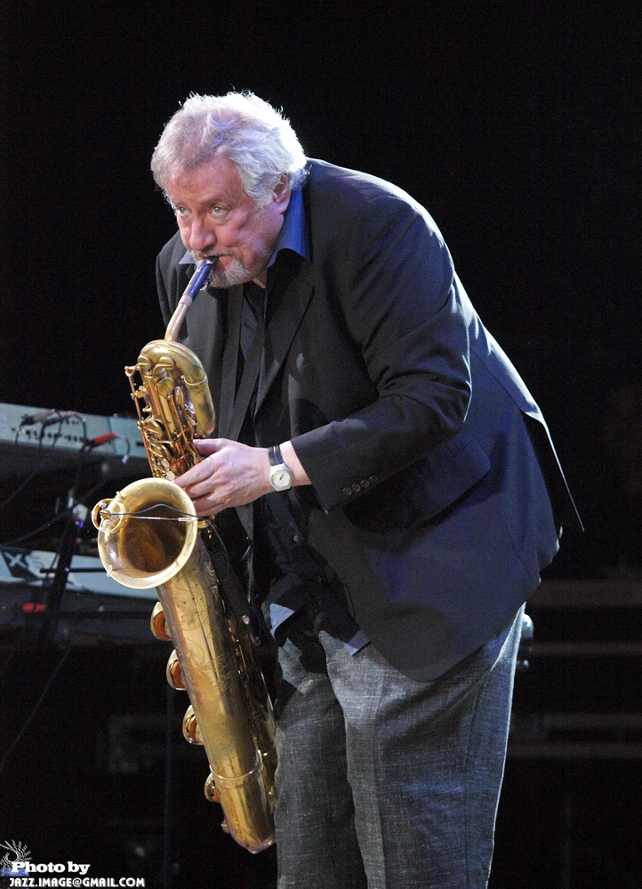 Ronnie Cuber, Jazz in Kiev 2009, Ukraine, with Steve Gadd