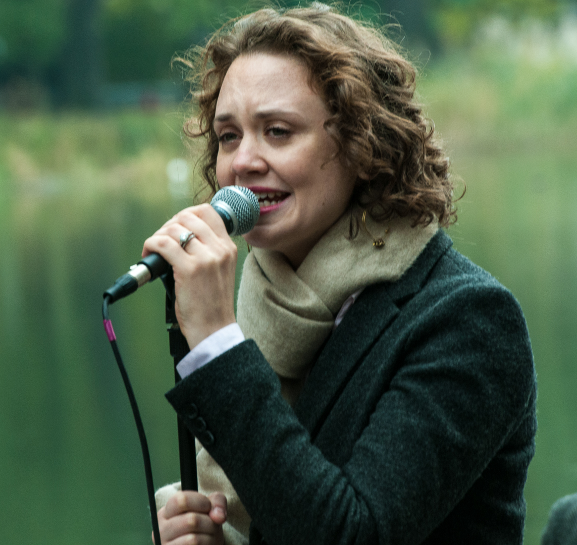 Haley Gardner with Jason Marshall Quartet at Jazz and Colors in Central Park
