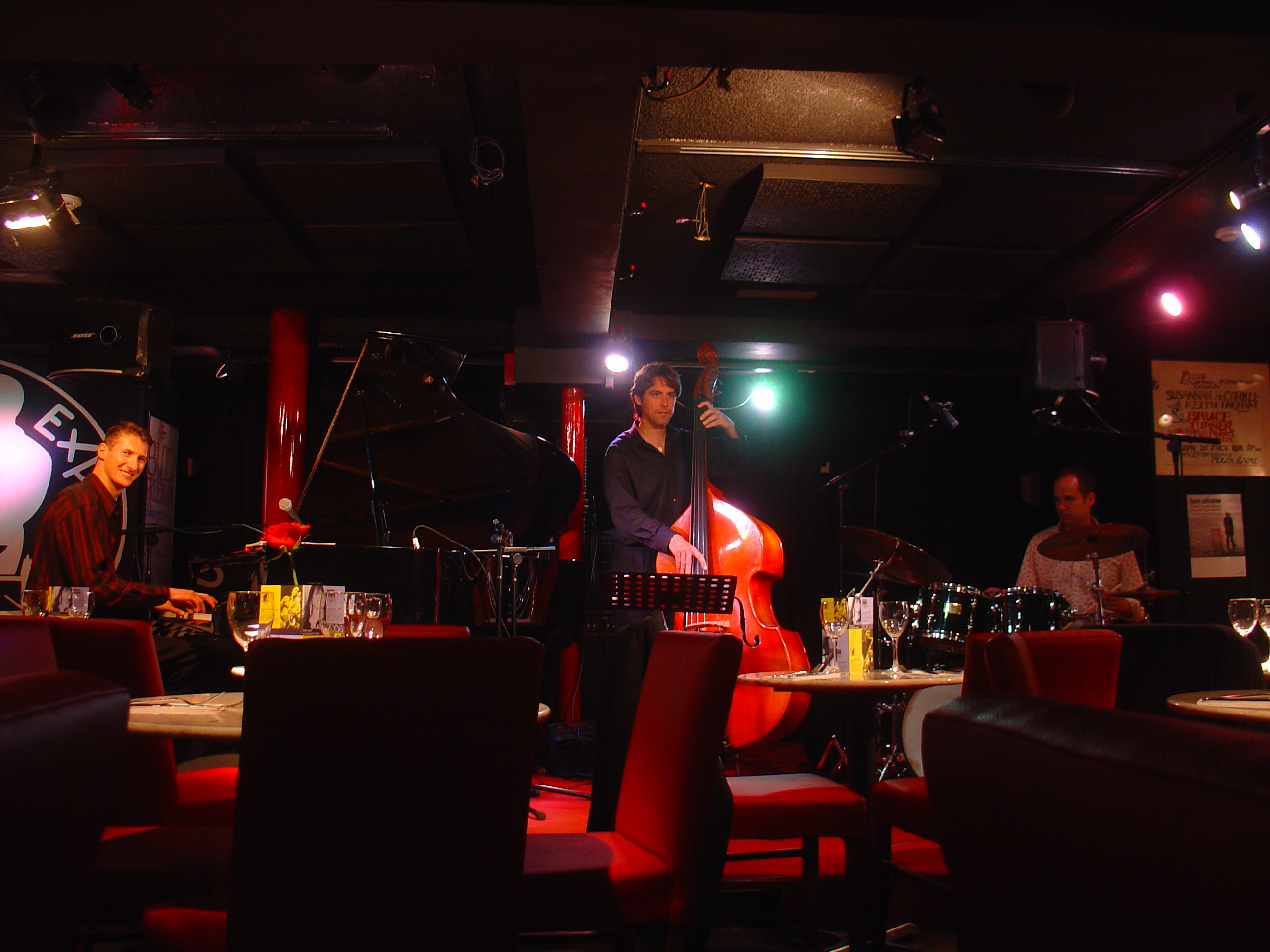Craig Schneider Trio at Pizza Express