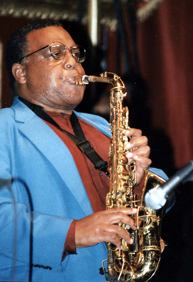 Arthur Blythe, Guinness Cork Jazz Festival Oct 1997
