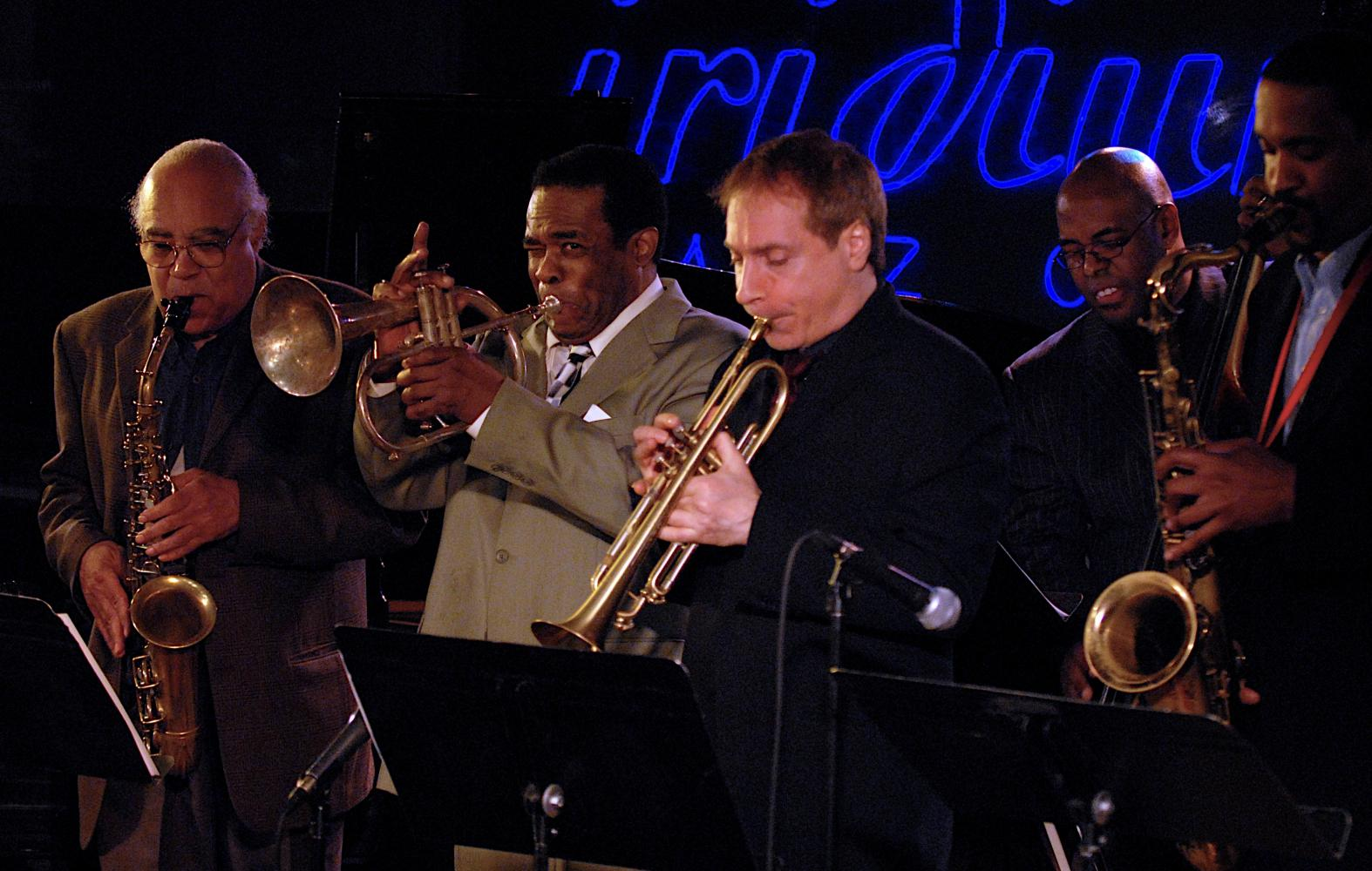 James Spaulding, Freddie Hubbard, David Weiss, Christian Mcbride And Javon Jackson At The Iridium