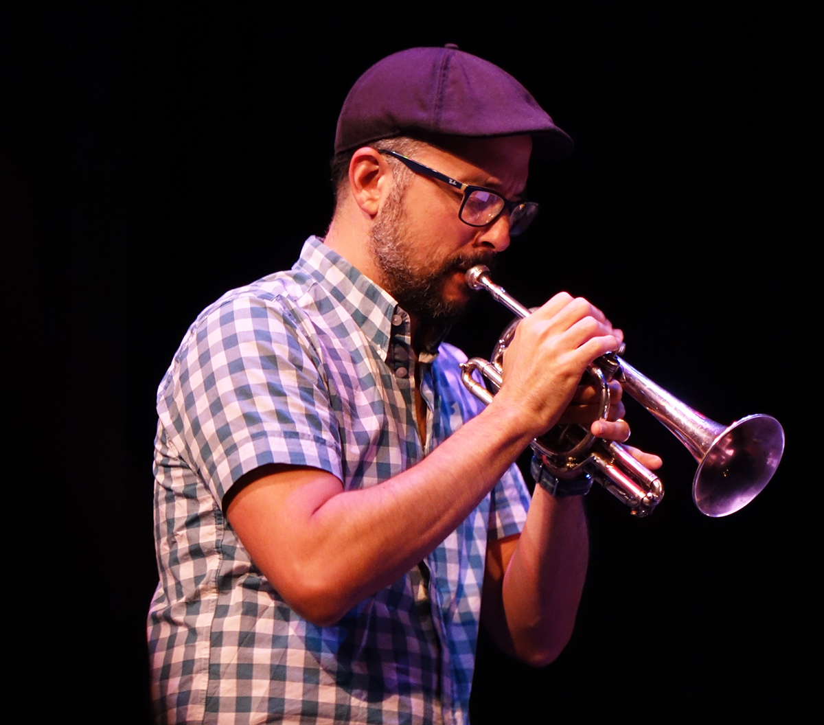 Taylor Ho Bynum at Guelph Jazz Festival 2015