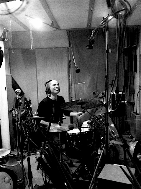 Asaf Recording at Eastcote Studios, London, 2014