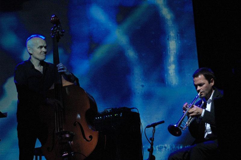 Lars Danielsson and Arve Henriksen, Performing at Punkt 2010