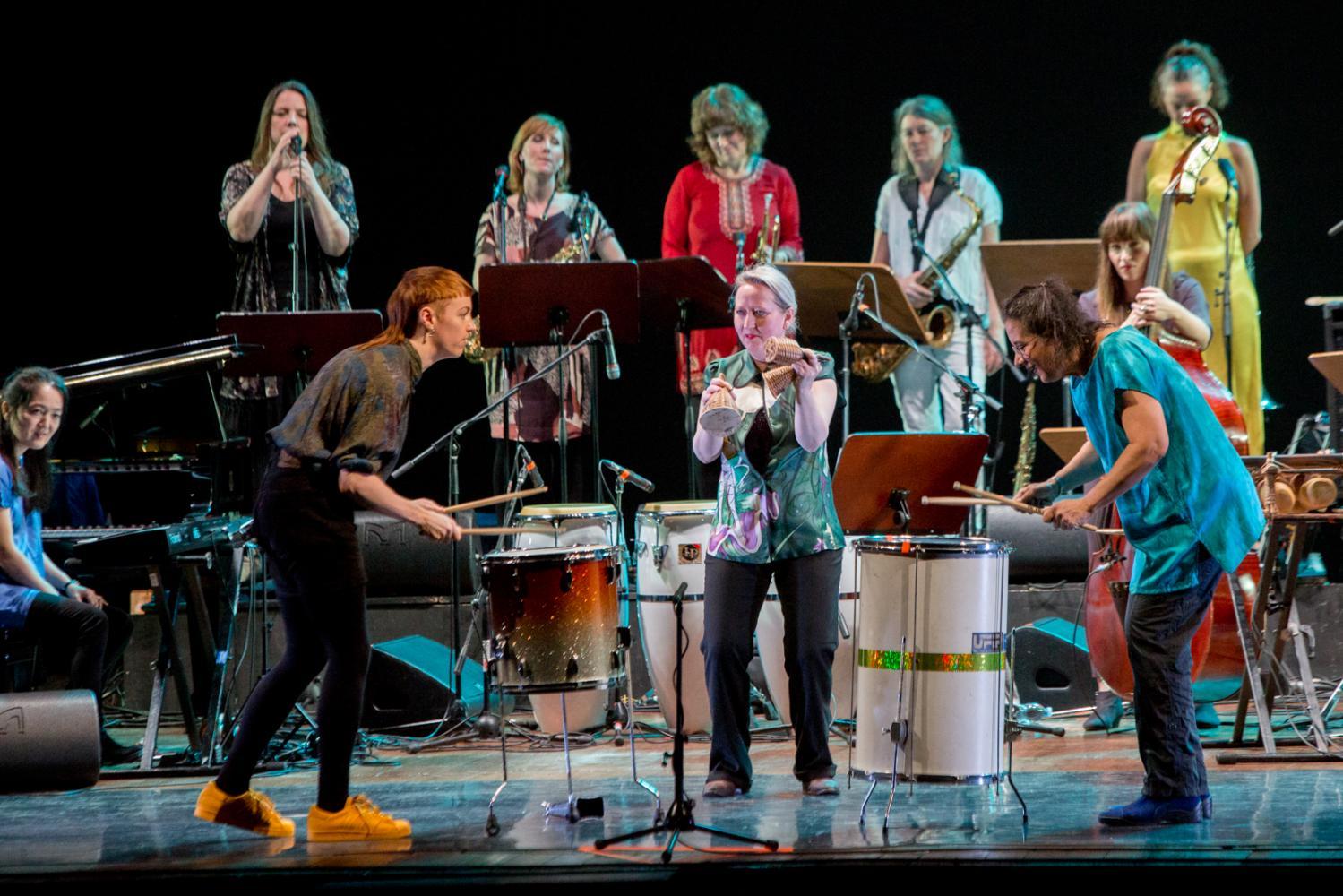 Marilyn Mazur's Shamania at Bergamo Jazz 2017