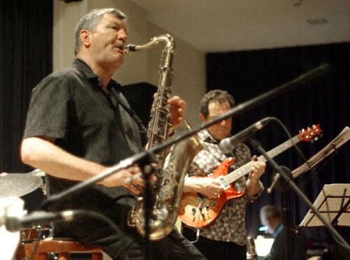 Stan Sulzmann, John Parricelli 29613 Images of Jazz