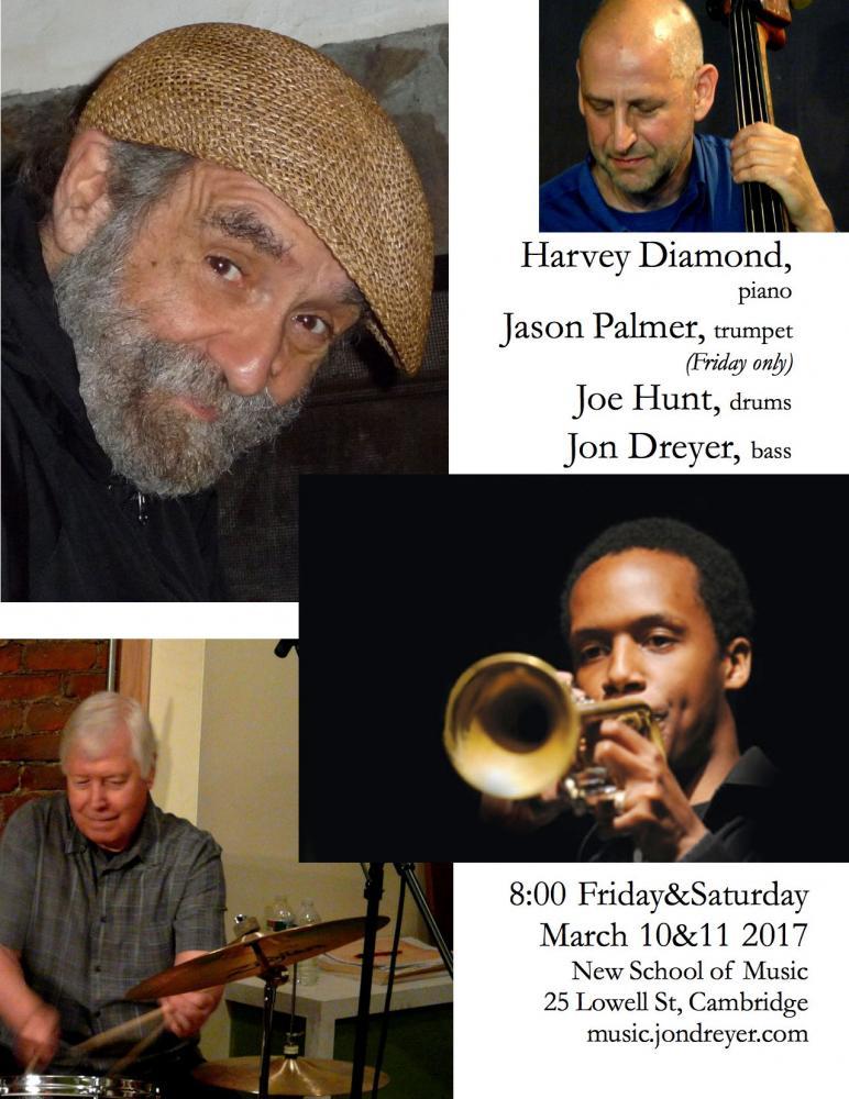 Harvey Diamond, Jason Palmer, Joe Hunt, Jon Dreyer