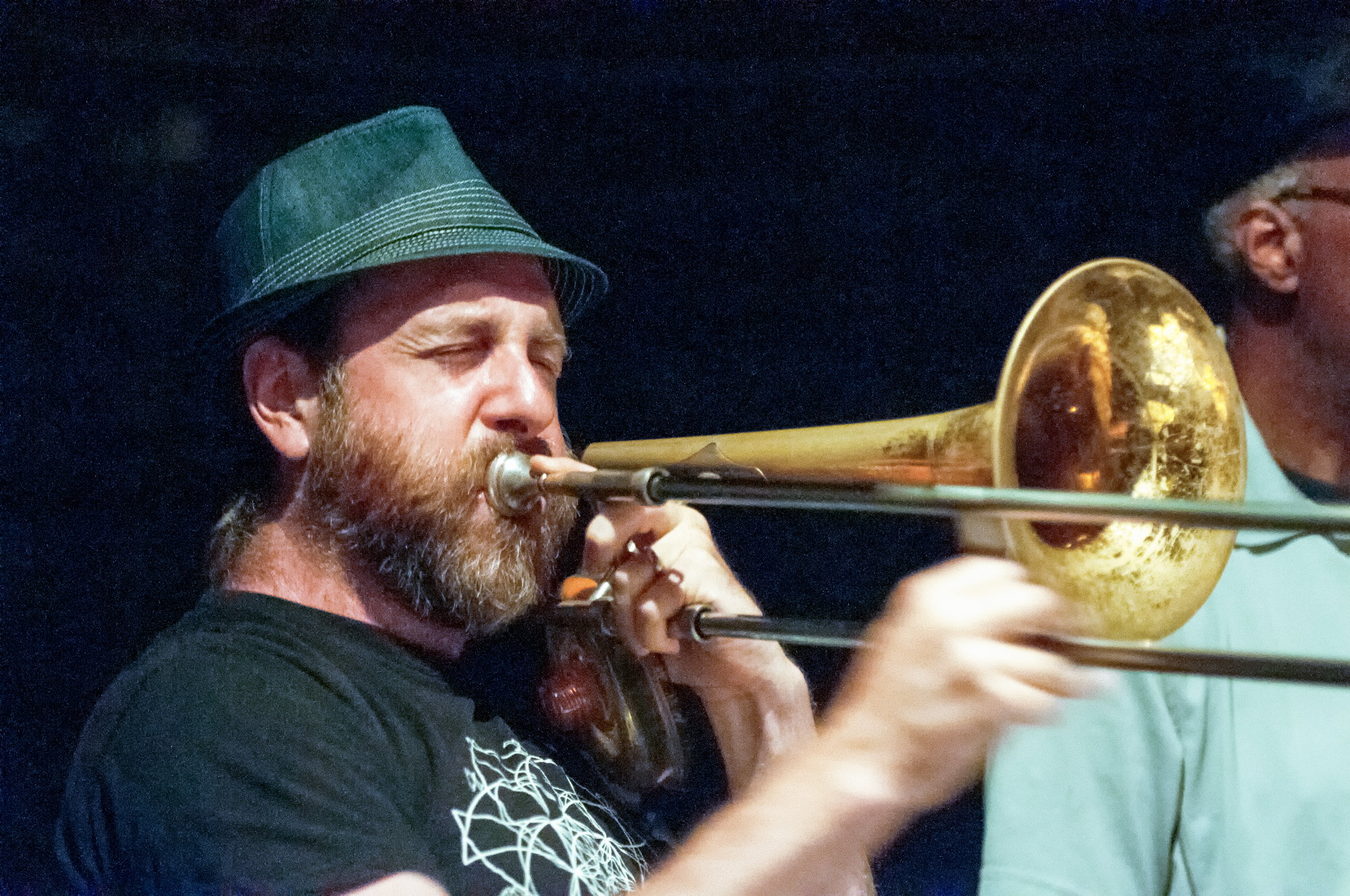 Brian Drye with Billy Martin's Wicked Knee at the Stone in New York City