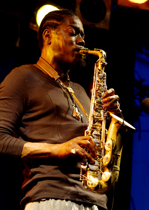 Soweto Kinch, Imperial Wharf Jazz Festival, London