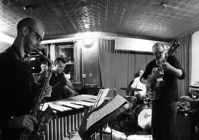 Michael Mussilani Quartet with Joe Fonda, George Schuller, Tom Beckham and Special Guest Michal Attias - Barbs 2005
