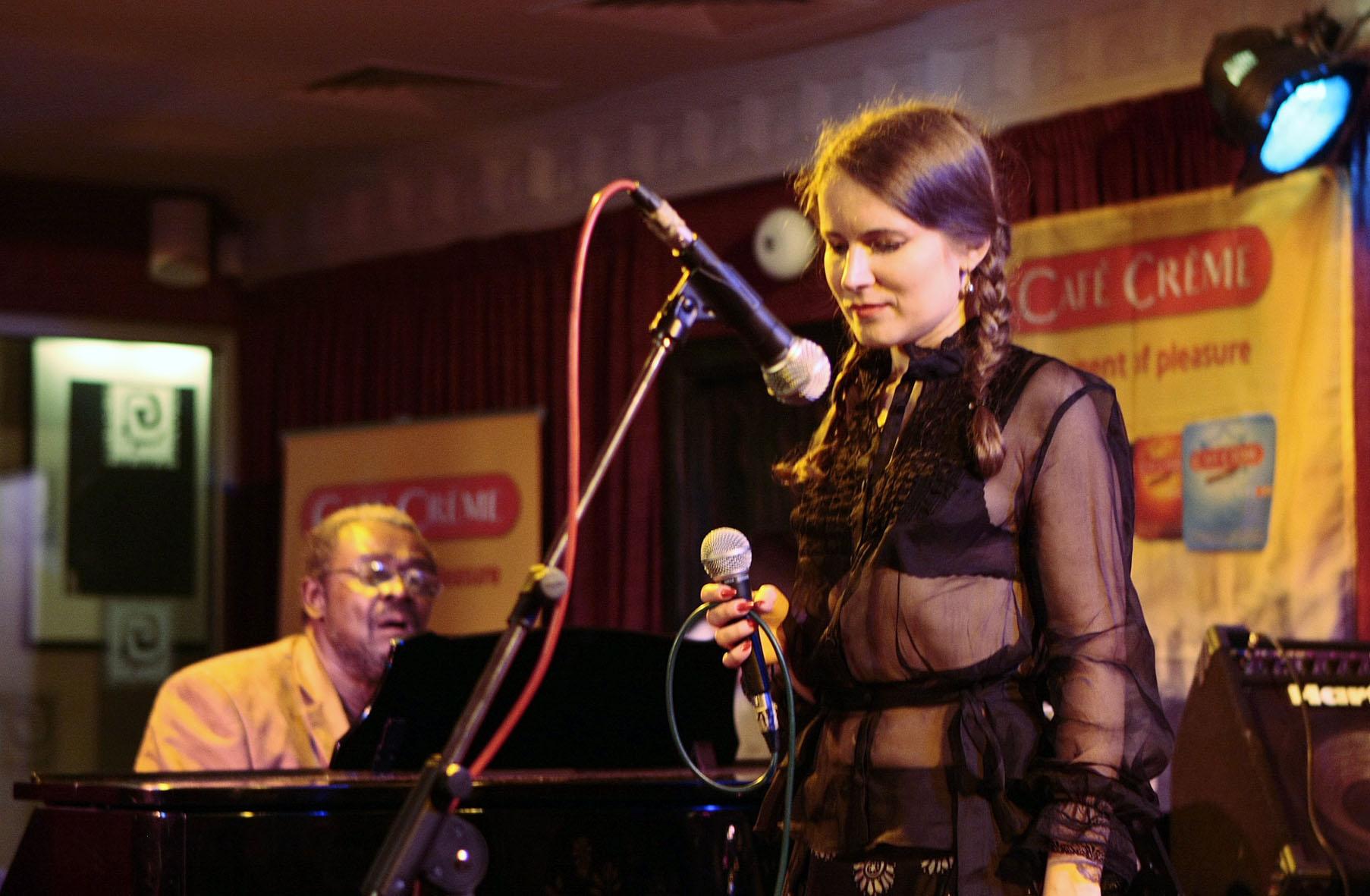Anastasia Glazkova with Larry Willis