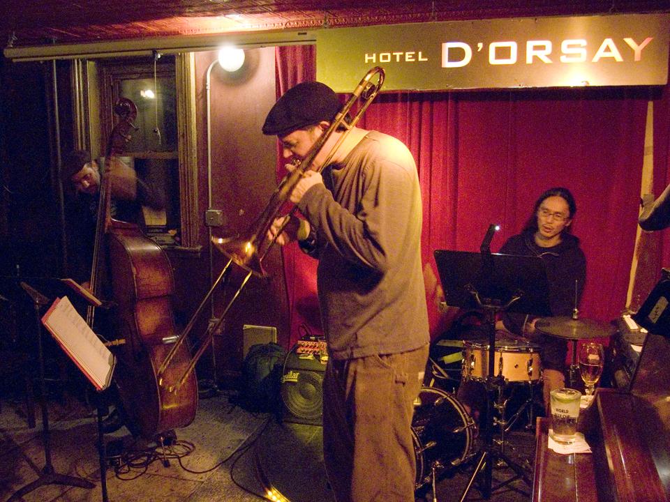 Joe Fiedler Trio with John Hebert and Satoshi Takeishi - Barbs 2007