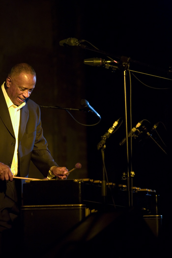 Bobby Hutcherson of B. Hutcherson Quartet - Gdansk in Jul. 2008