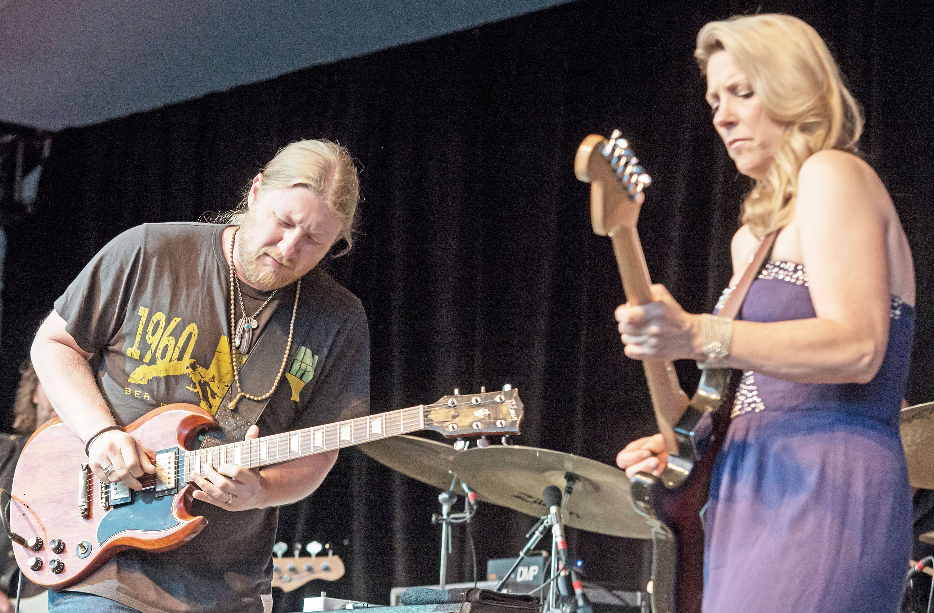 Tedeschi Trucks Band at the 2014 td Ottawa Jazz Festival