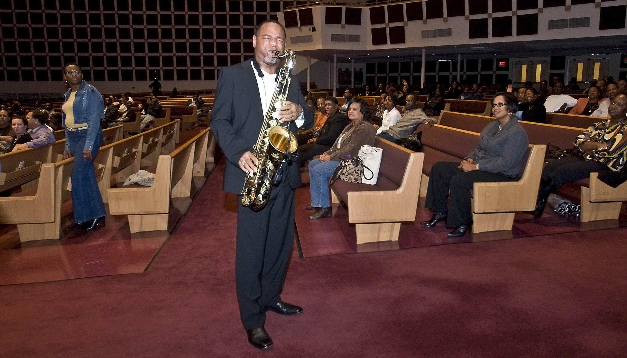 Kirk Whalum at Reid Temple (MD)