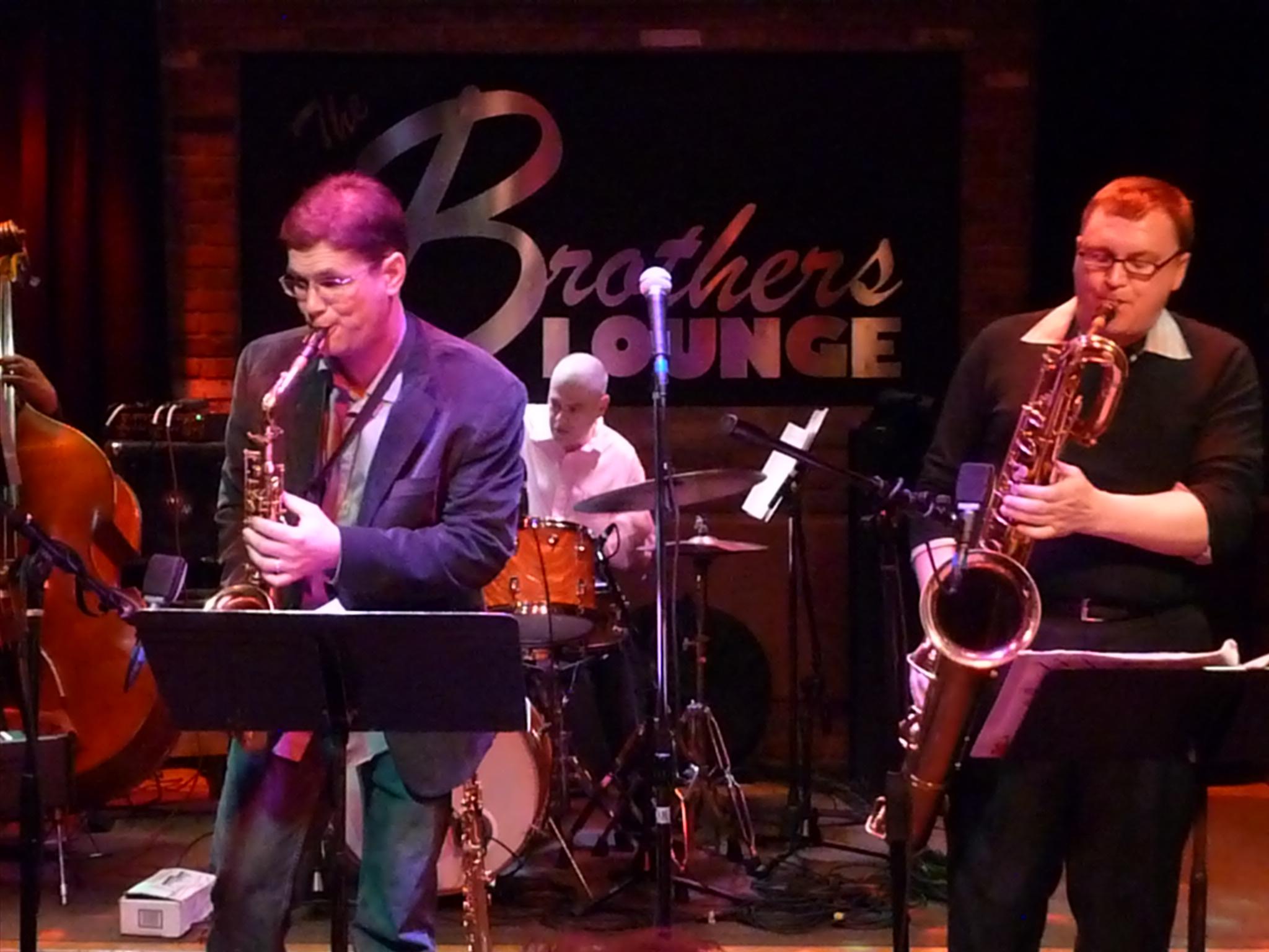 Dave Sterner, Paul Samuels and Chris Burge at Tri-C Jazzfest Cleveland 2011