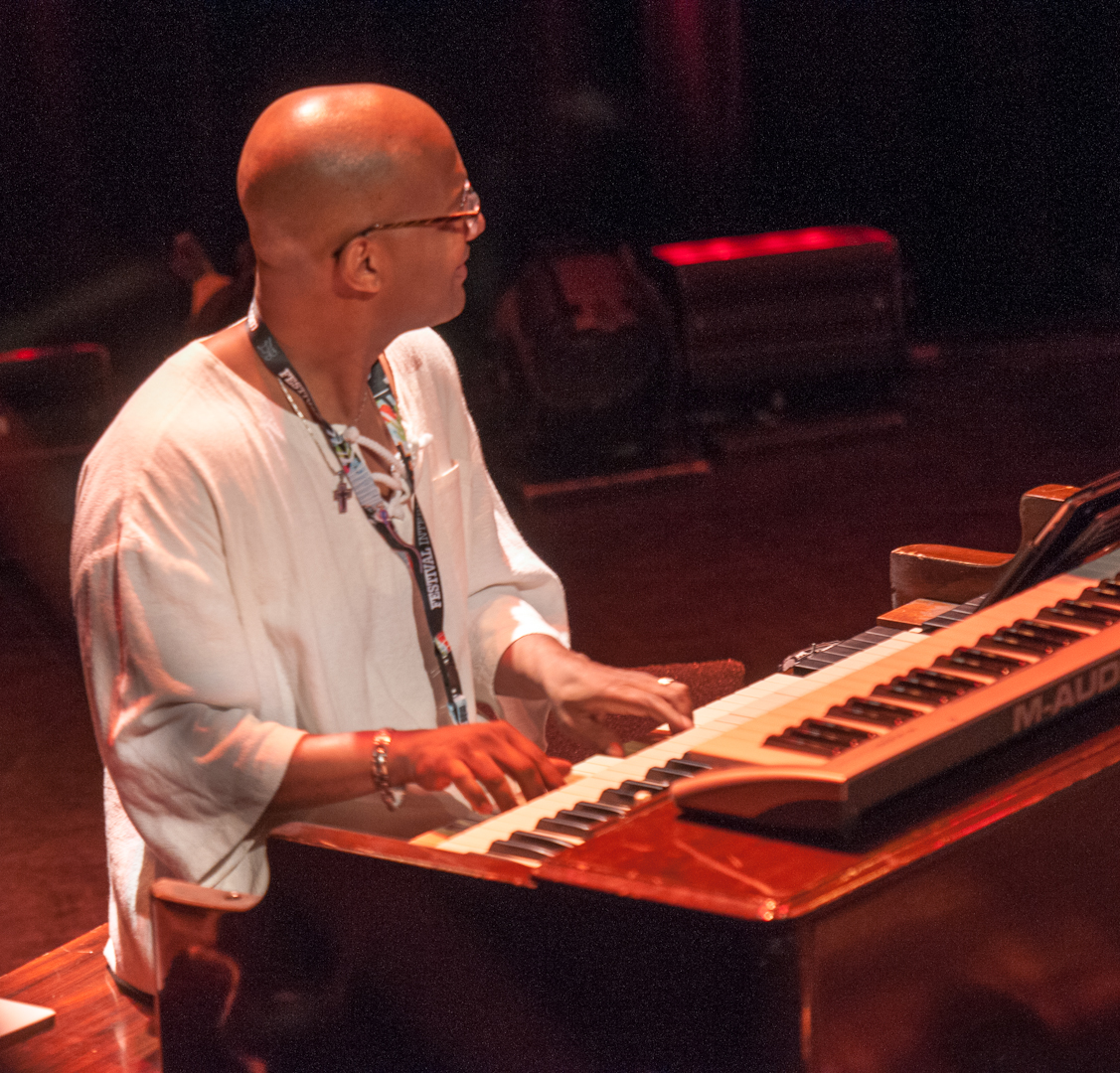 Gerard Gibbs with the James Carter Organ Trio at the Montreal International Jazz Festival