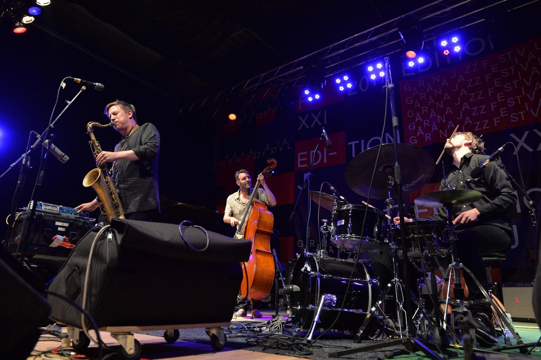 Hakon Kornstad Quartet at Garana Jazz Festival 2017