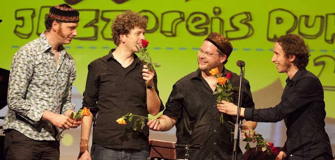Winner of the First Jazz Prize Ruhr - Marc Brenken - Christian Kappe Quartet