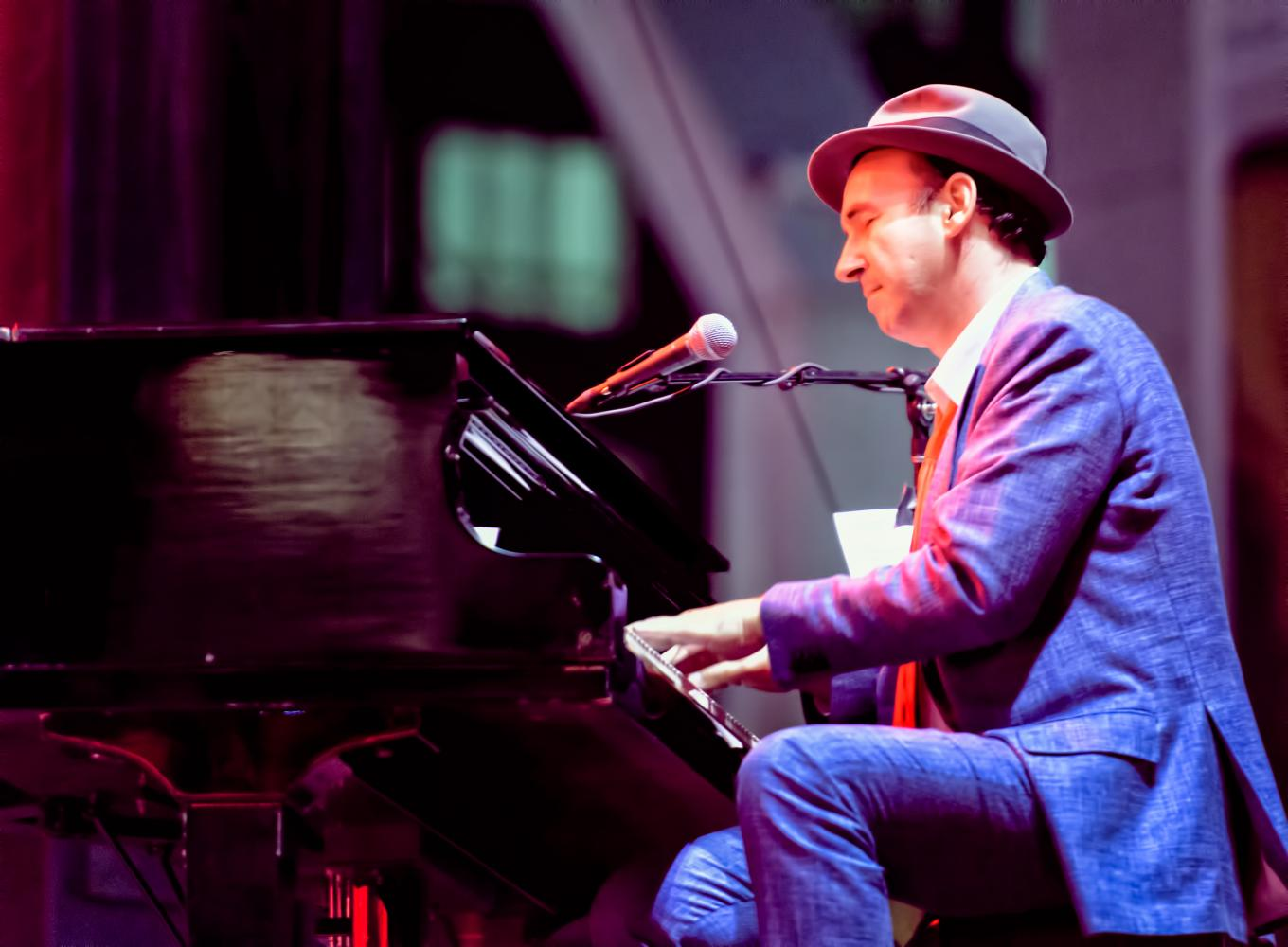 Evan Palozzo with the Hot Sardines at The Montreal International Jazz Festival 2016