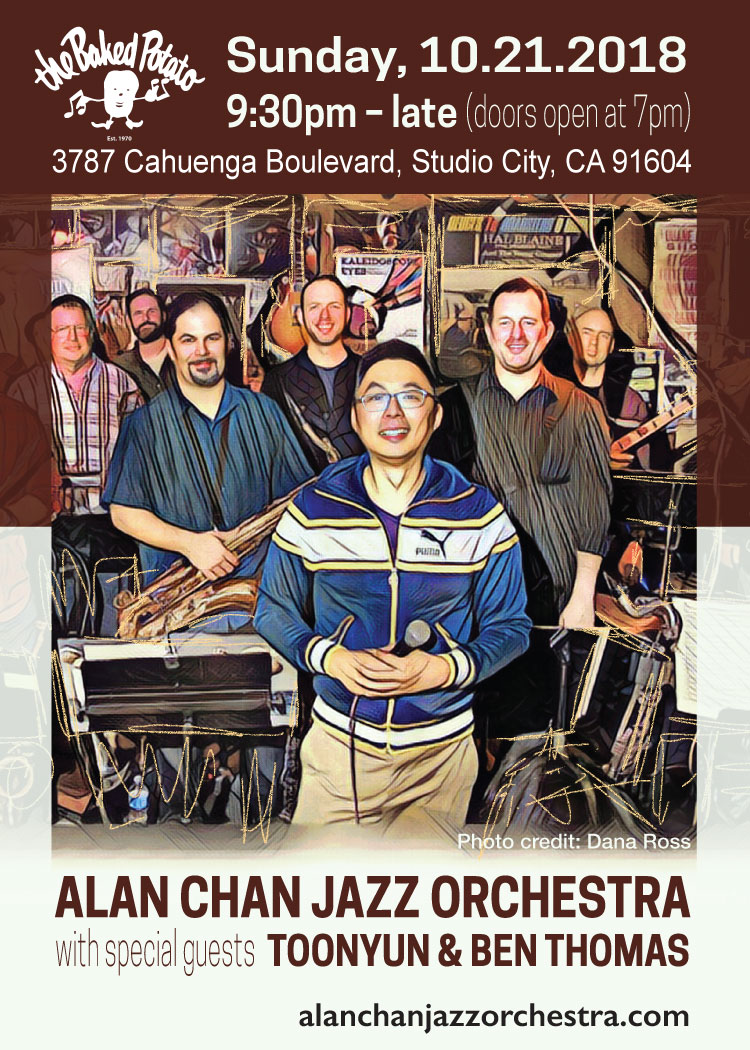 Alan Chan Jazz Orchestra With Ben Thomas And Toonyun
