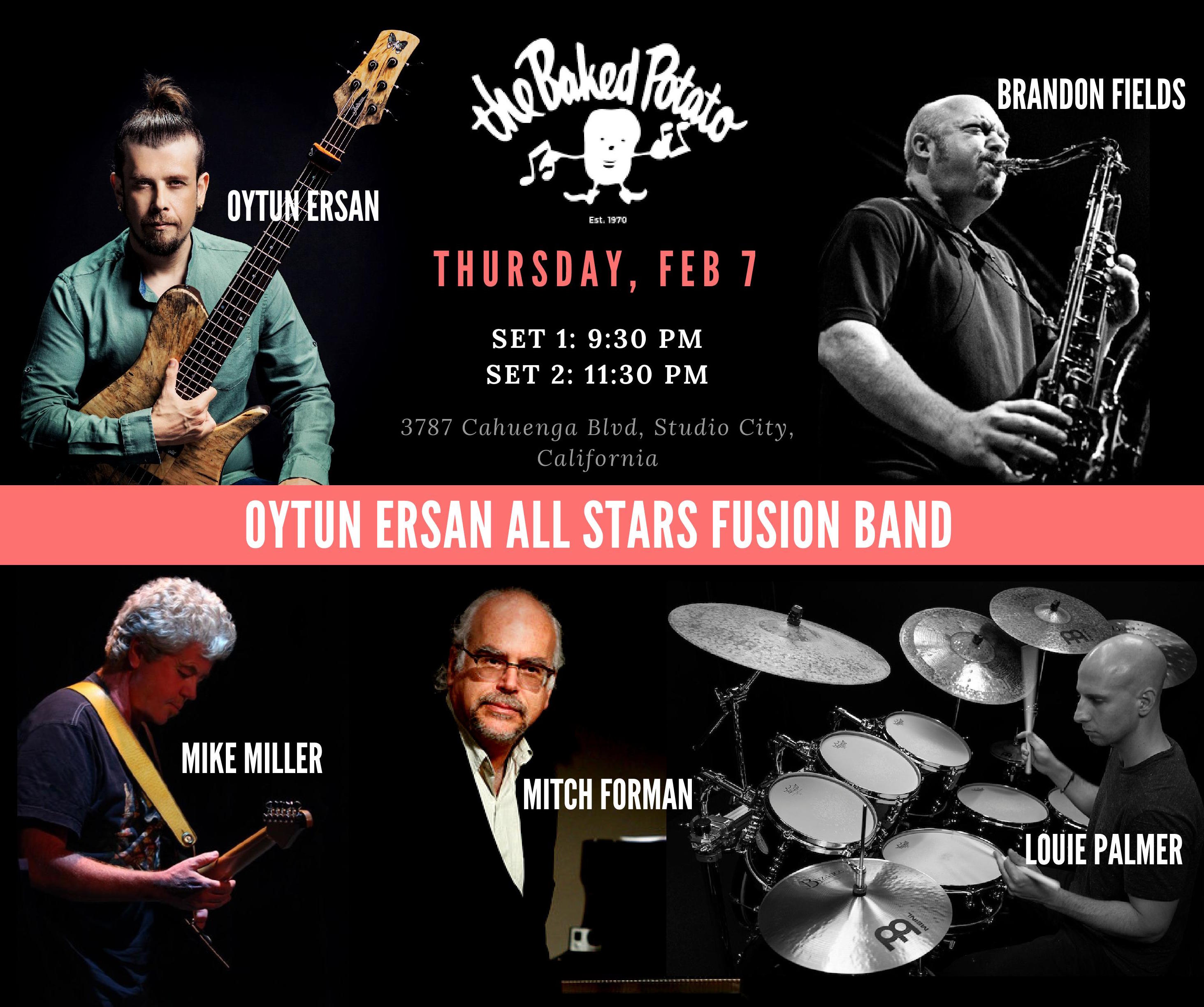 Oytun Ersan All Stars Band