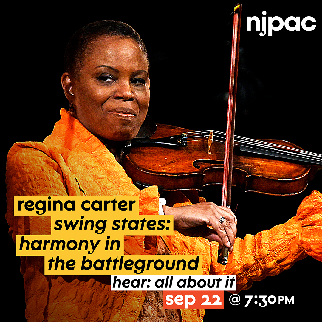 Jazz Standard And New Jersey Performing Arts Center Host An Exclusive Talk With Regina Carter