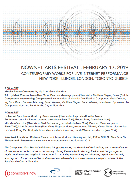 Nownet Arts Festival: Afternoon Set