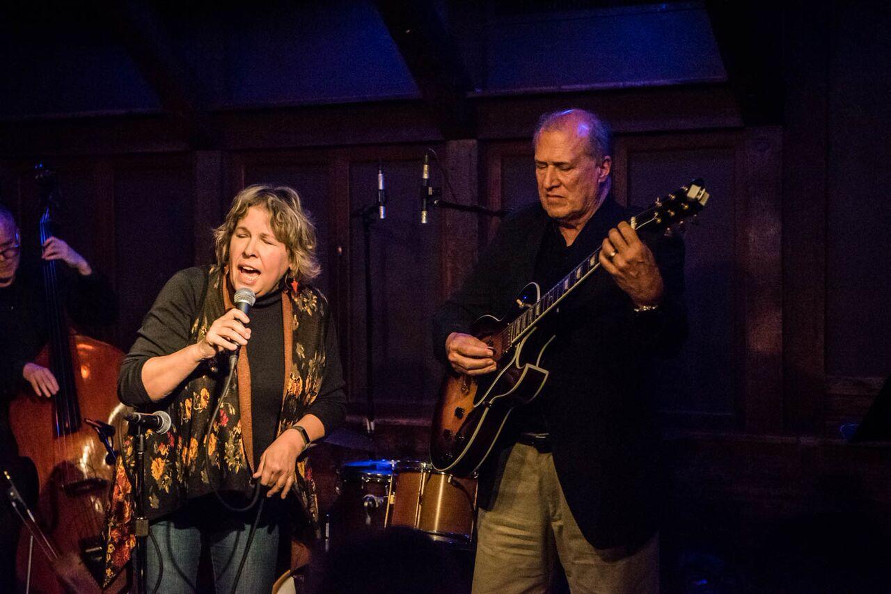 Singer Suzanne Cloud And Guitarist Tom Glenn