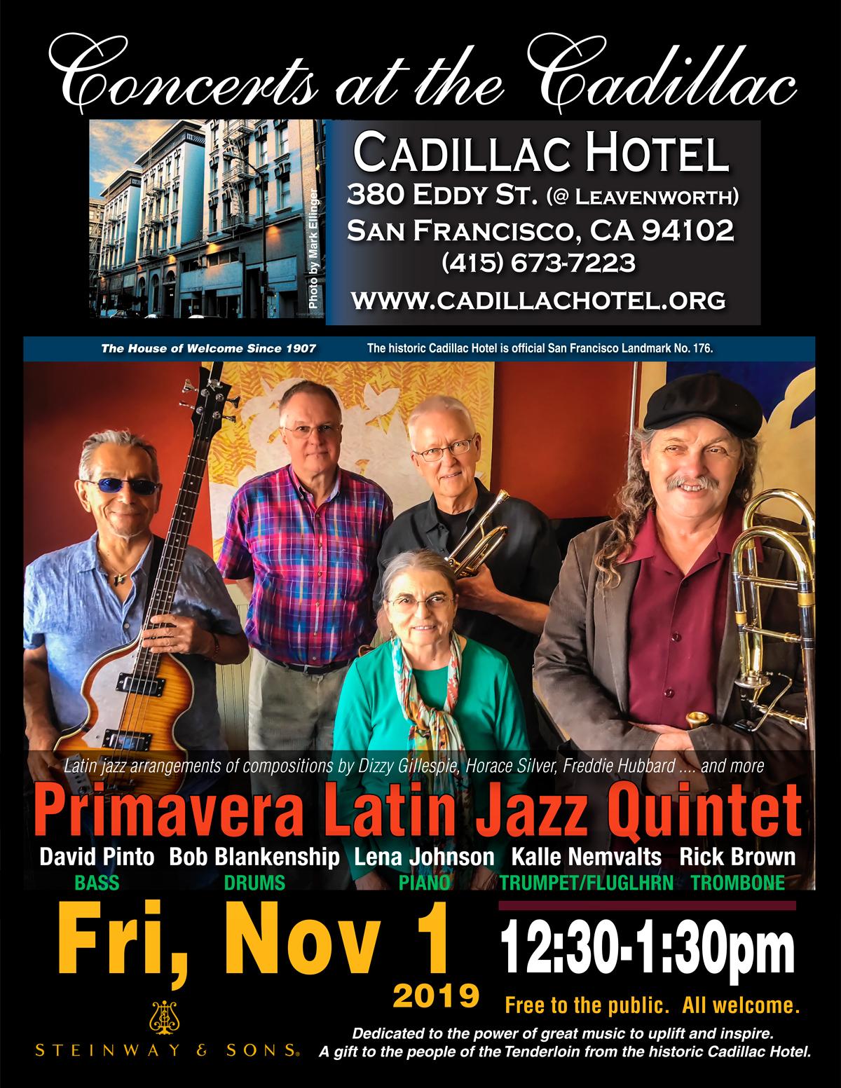 Primavera Latin Jazz Quintet