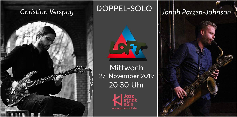Doppel-solo-konzert: Christian Verspay // Jonah Parzen-johnson